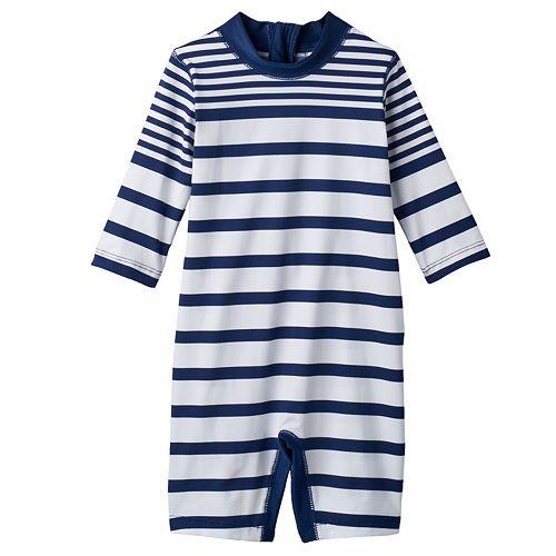4fef29f56f Baby Boy Carter's One-Piece Striped Rashguard