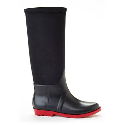 Henry Ferrera French Women's Water-Resistant Stretch Rain Boots