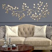 Stratton Home Decor Flowing Leaves Metal Wall Decor