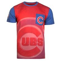 Men's Forever Collectibles Chicago Cubs Pocket Tee