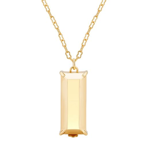 Yellow Ion-Plated Enhancer Pendant for Fitbit® Flex™