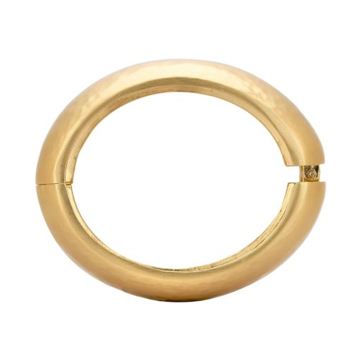 Yellow Ion-Plated Enhancer Bangle Bracelet for Fitbit® Charge™