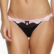 Jezebel Darlie Lace-Trim Thong Panty 50033