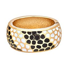 Animal Print Enhancer Bangle Bracelet for Fitbit® Charge™