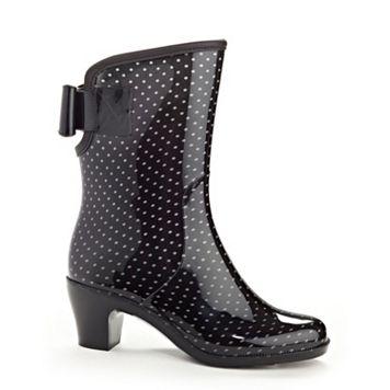 Henry Ferrera Diva Women's Water-Resistant High-Heel Rain Boots