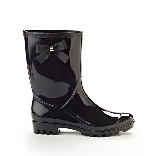 Henry Ferrera Beauty Women's Water-Resistant Ankle Rain Boots