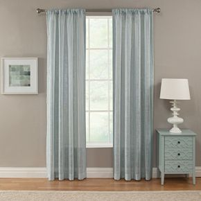 Corona 1-Panel Window Curtain Baylee Window Curtain