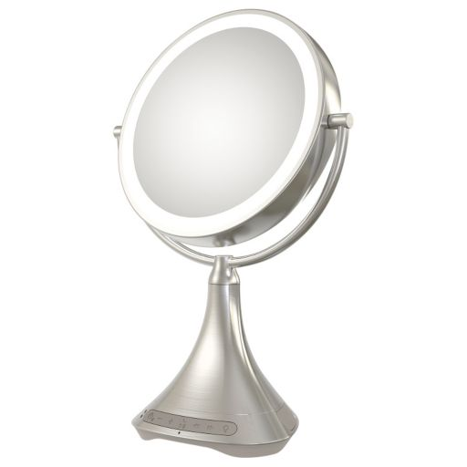iHome 7X Double-Sided Vanity Mirror with Bluetooth Speaker