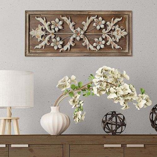 Kohls Home Decor Wall Art ~ Stratton home decor vintage panel wall
