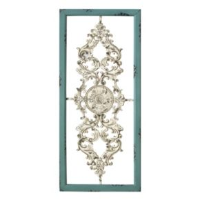 Stratton Home Decor Scroll Panel Metal Wall Decor