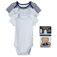 Baby Boy Vitamins Baby 3-pk. Bodysuit & Sticker Set