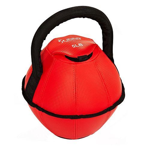 Sunny Health & Fitness 5-Pound Soft Kettleball (No. 073-5)