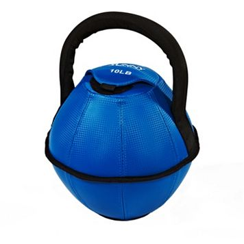 Sunny Health & Fitness 10-Pound Soft Kettleball (No. 073-10)