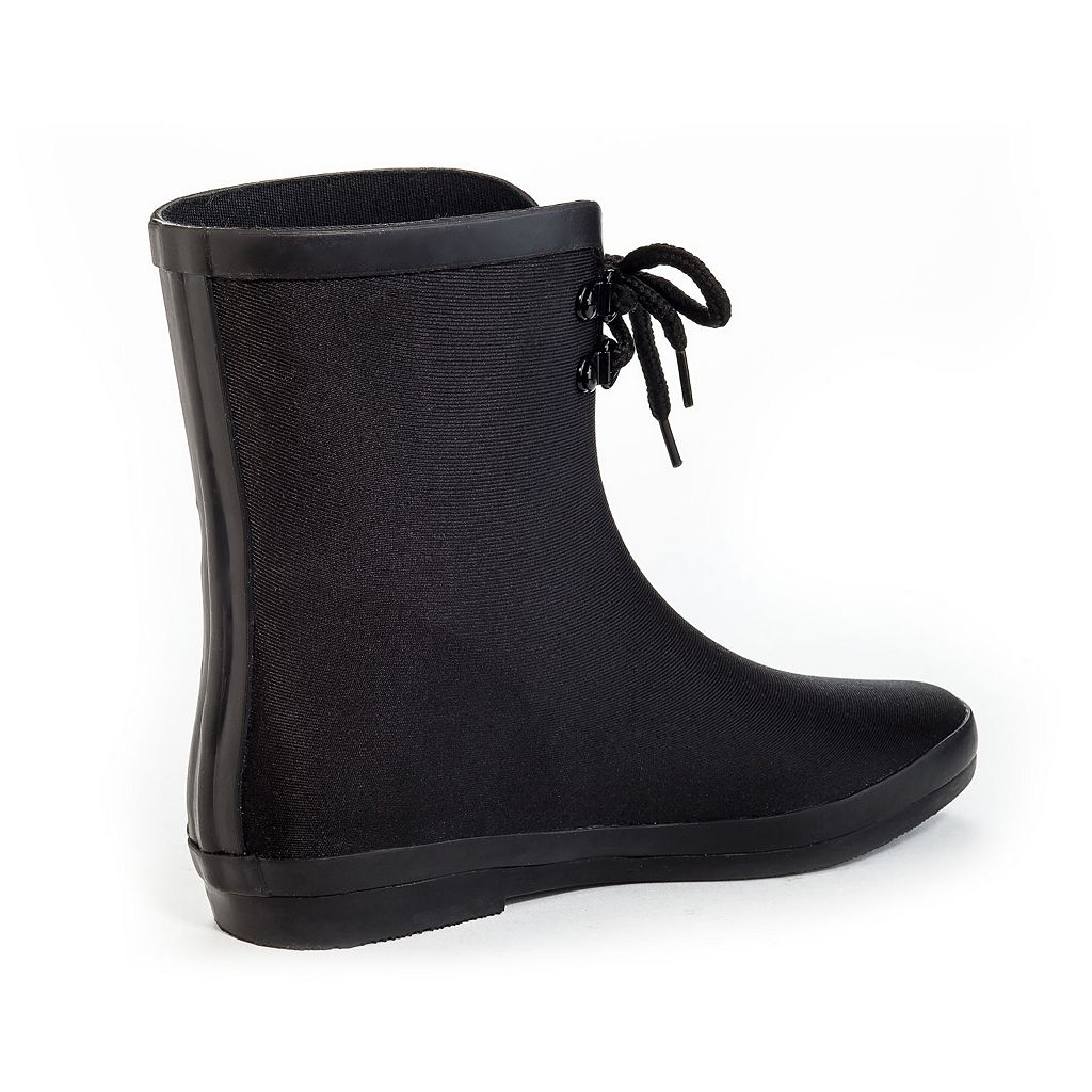 Henry Ferrera Blooming Women's Water-Resistant Ankle Rain Boots