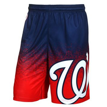 Men's Forever Collectibles Washington Nationals Gradient Shorts