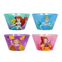 Disney Princess 4 pc Bowl Set by Jumping Beans®