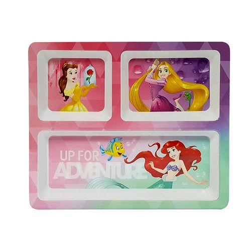 """Disney Princess """"Up For Adventure"""" Divided Plate by Jumping Beans®"""