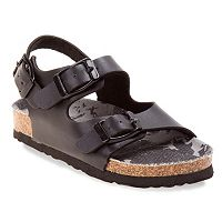 Rugged Bear Toddler Boys' Buckle Sandals