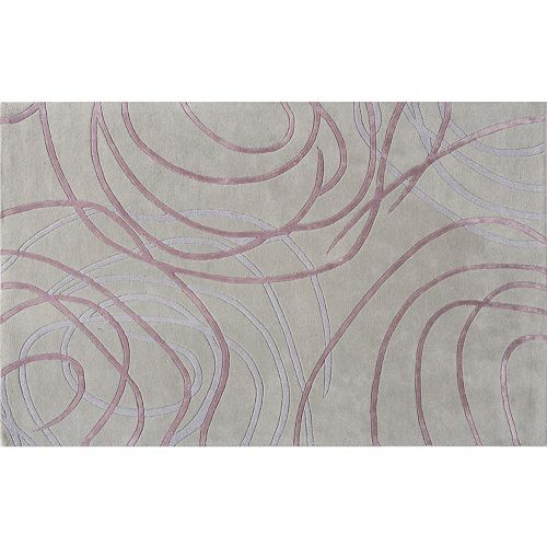 Rugs America Millenium Circular Abstract Wool Rug