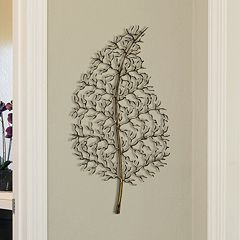 Stratton Home Decor 'Ornate Leaf' Wall Decor