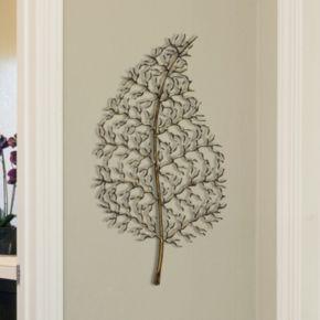 "Stratton Home Decor ""Ornate Leaf"" Wall Decor"