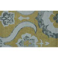 Rugs America Millenium Large Fleur De Lis Wool Rug