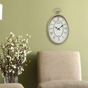 Stratton Home Decor Elegant Paris Wall Clock