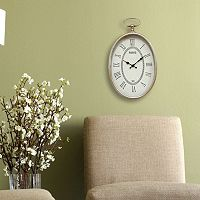 Stratton Home Decor Elegant Paris Wall Clock