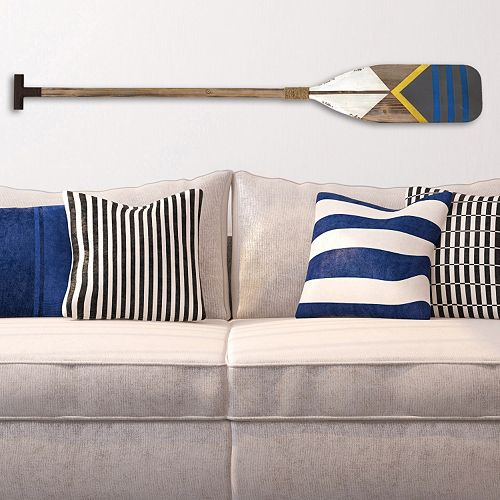 Nautical Wall Decor Oars: Stratton Home Decor Nautical Oar Wall Decor