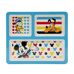 Disney's Mickey Mouse 9.5-in. Divided Plate by Jumping Beans®