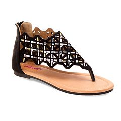 Josmo Girls' Geometric Sandals