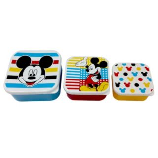 Disney's Mickey Mouse 3-pc. Snack Container Set by Jumping Beans®