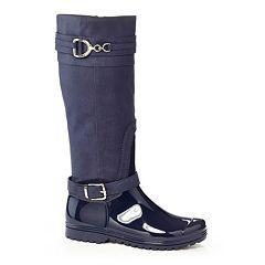 Henry Ferrera J Women's Water-Resistant Harness Rain Boots