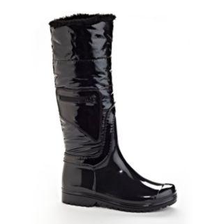 Henry Ferrera J Women's Water-Resistant Faux-Fur Rain Boots