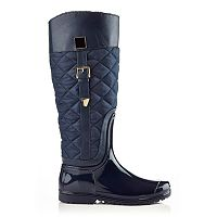 Henry Ferrera J Women's Water-Resistant Quilted Rain Boots