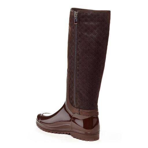 Henry Ferrera J Women's Water-Resistant Textured Rain Boots