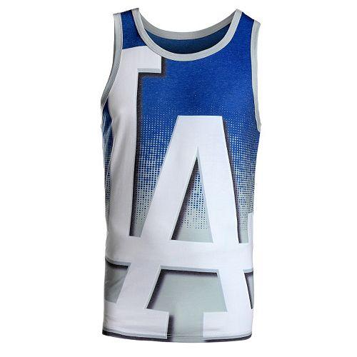 Men's Los Angeles Dodgers Logo Tank