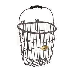 Nantucket Bicycle Basket Co. Surfside Rear Pannier Basket & Hooks
