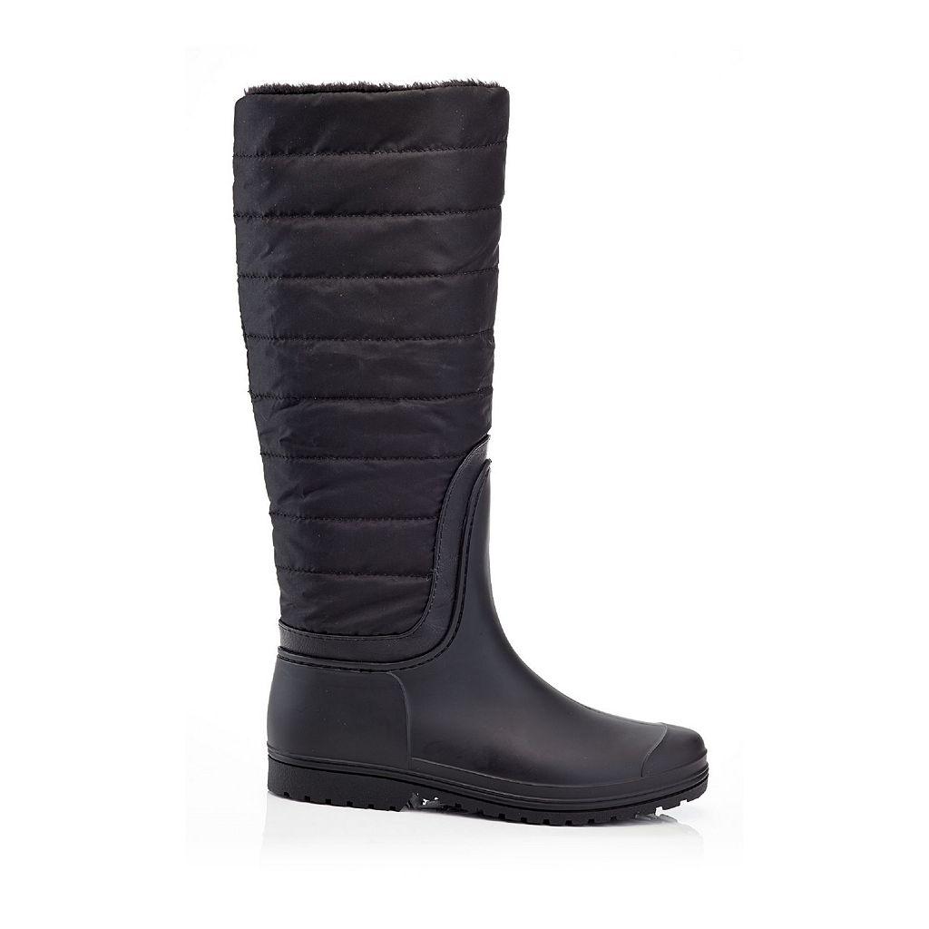 Henry Ferrera J Women's Water-Resistant Padded Rain Boots