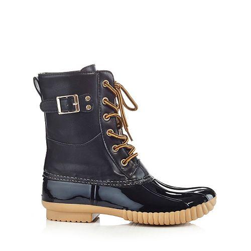 Henry Ferrera Mission Women's Water-Resistant Buckle Duck Boots