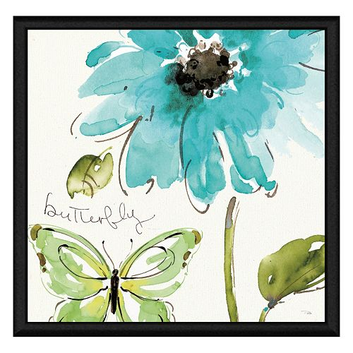 Butterfly Framed Canvas Wall Art