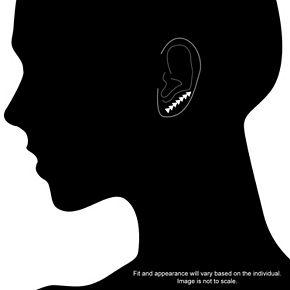 LC Lauren Conrad Front-Back Earrings