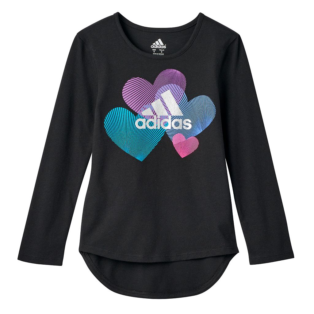 Toddler Girl adidas Droptail Graphic Tee