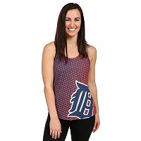 Women's Forever Collectibles Detroit Tigers Racerback Tank