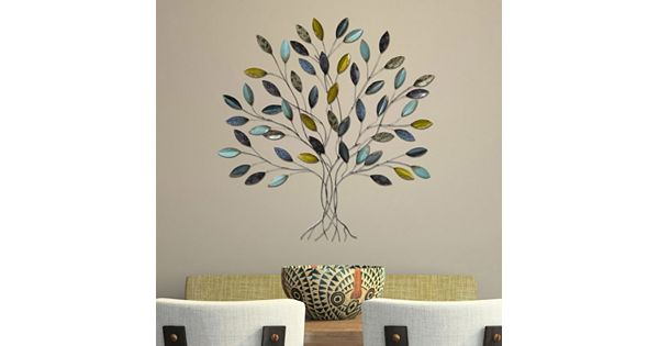 Kohls Home Decor Wall Art ~ Stratton home decor tree metal wall