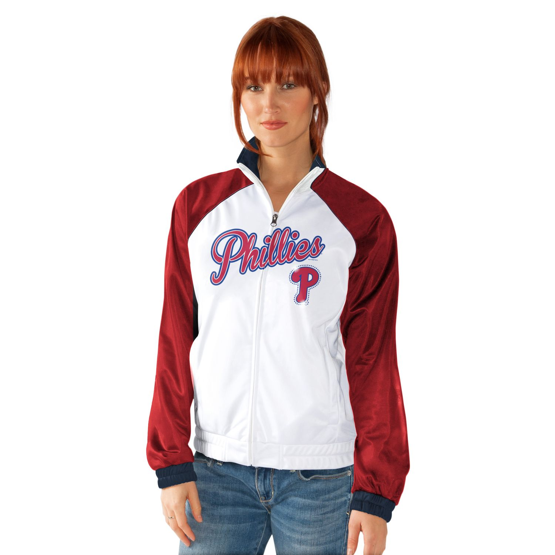 Womens Philadelphia Phillies Track Jacket