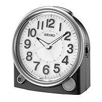 Seiko Two Tone Alarm Clock - QHE143JLH