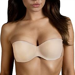 Maidenform Bra: Adhesive Wing Strapless Backless Balconette Bra M2235