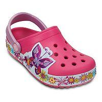Crocs Crocband Butterfly Girls' Clogs