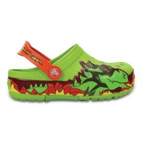 Crocs Fire Dragon Kids' Light-Up Clogs